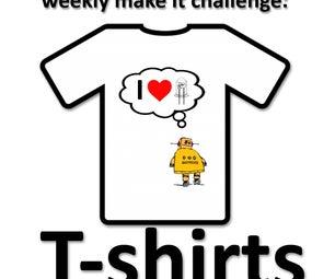 Weekly Make It Challenge: T-shirts