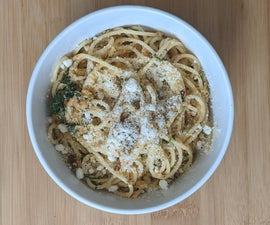 Italian Style Spaghetti (spaghetti With Garlic and Oil)