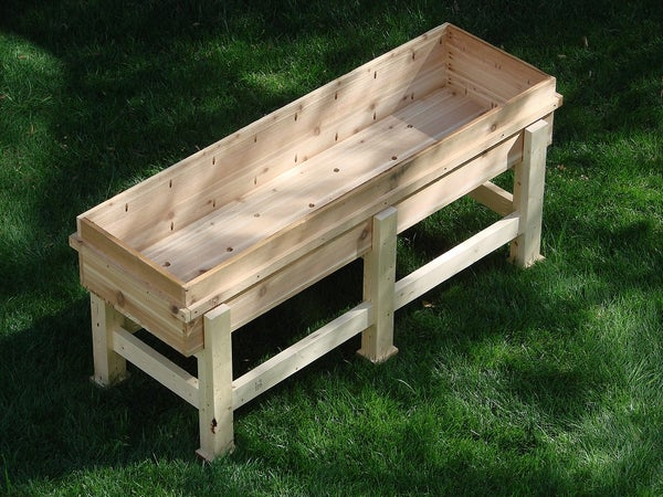 Waist High Planter Box