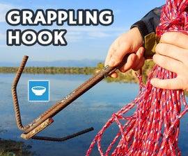 Grappling Hook From Construction Rebar