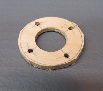 Building the Mounting Ring to Hold the LEDs