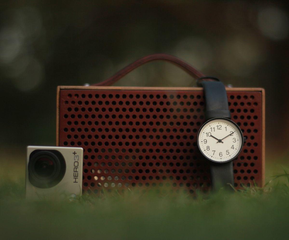 Lasercut Portable Speakers