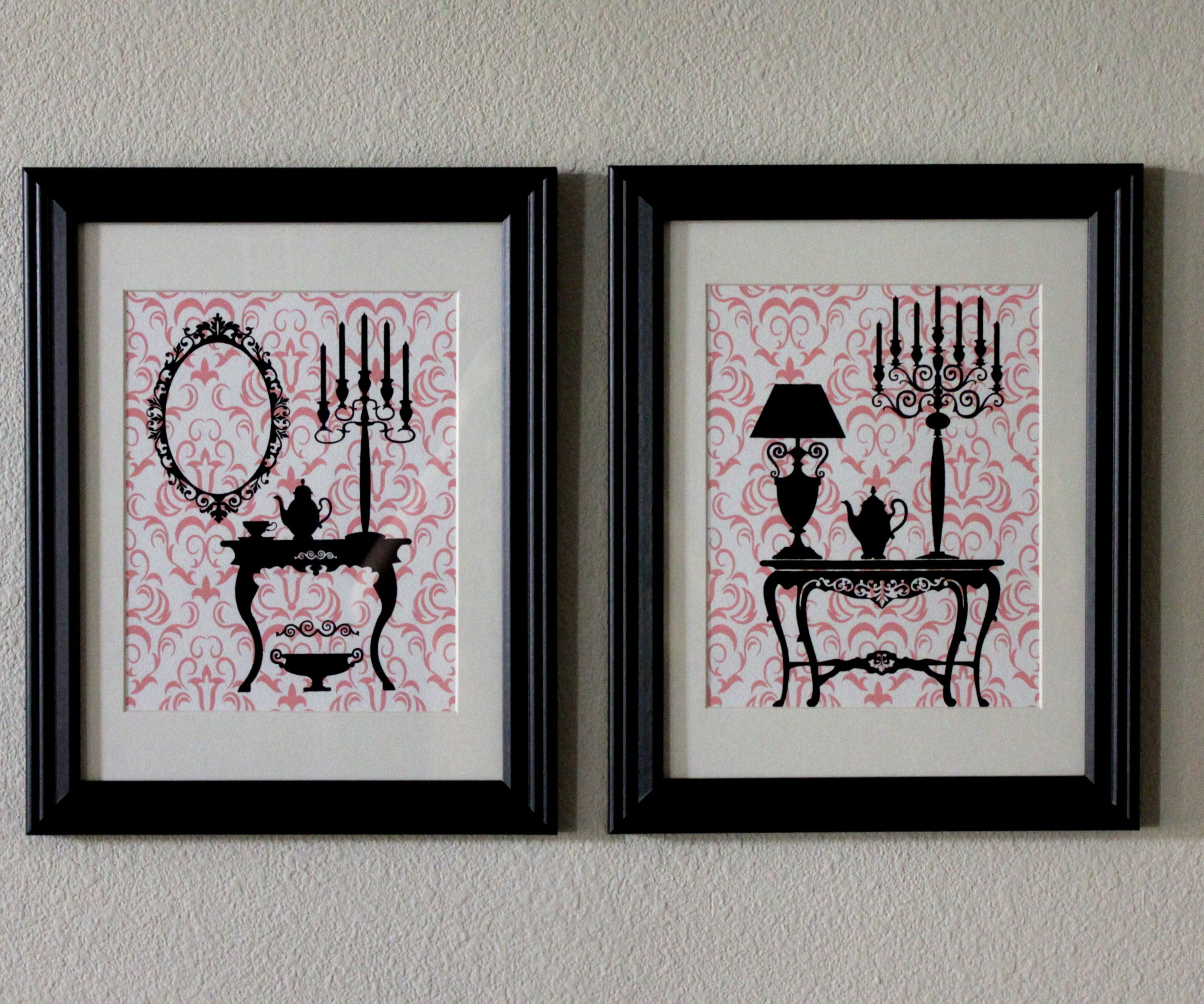 Make Your Own DIY Screen Printed Two-Tone Wall Decor in a Pinch!