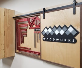 Custom Tool Storage Wall