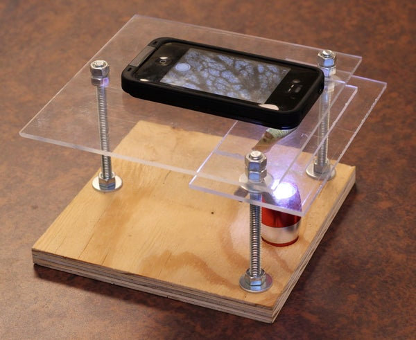 $10 Smartphone to Digital Microscope Conversion!