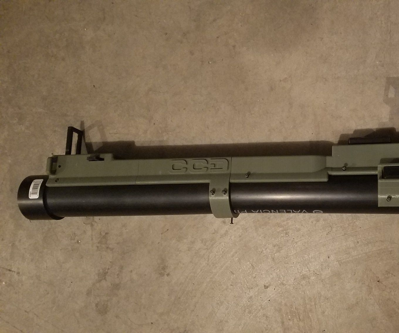M72 LAW TagInn Airsoft Launcher ($70 DIY Build)