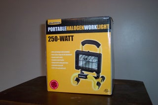 Halogen Work Light Projector Mod V2 0 7 Steps Instructables