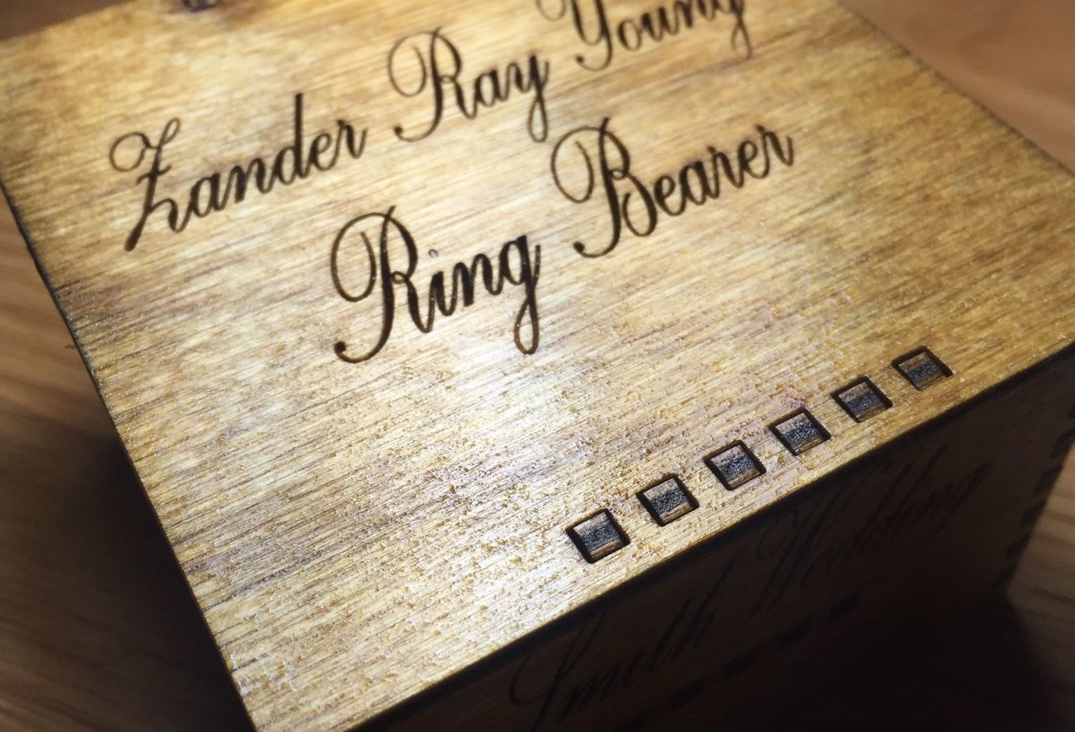 Ring Bearer Box