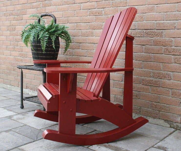 Adirondack Rocking Chair Instructables, Deck Rocking Chair Plans