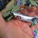DIY Ten cent conduit pipe fishing lure
