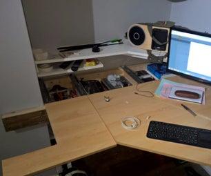 Secret Storage Floating Desk