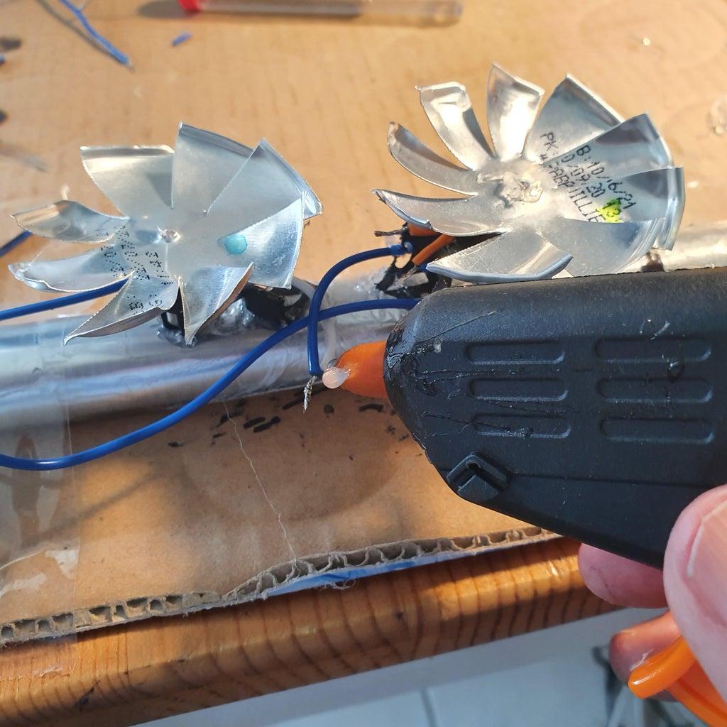 Glue on Turbine Blades