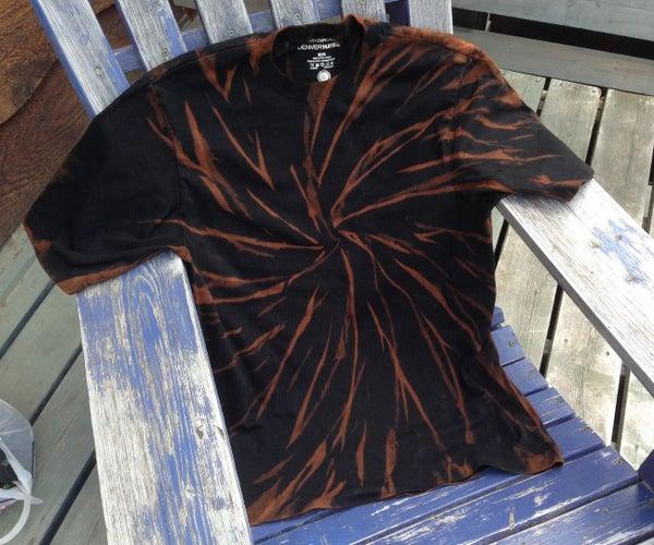 Bleached Black Tiger T-shirt