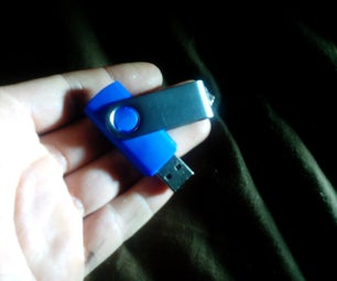 Super Safe Magnetically Locked Flash Drive (in Five Minutes or Less)