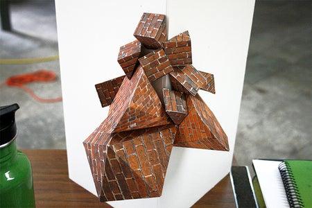 Pin & Glue Shapes Together in Arrangements