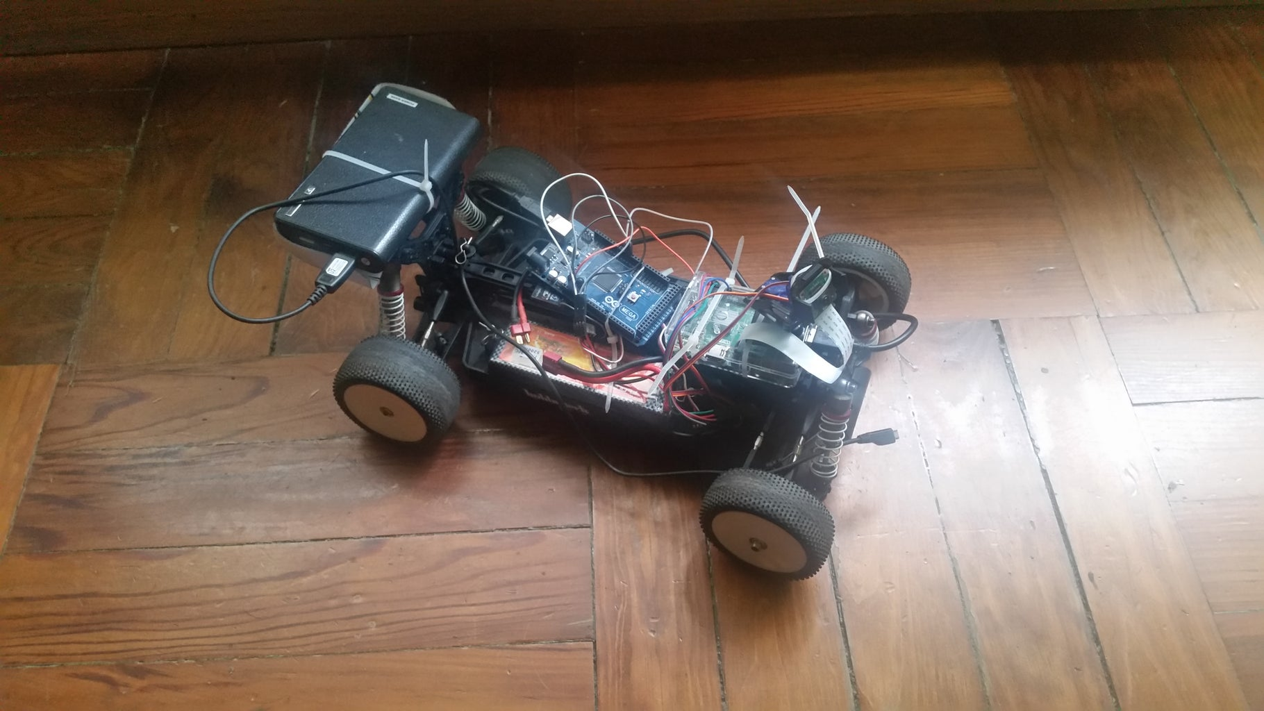 Open Hardware Rover With OpenCV