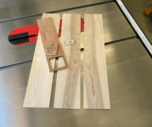 Making Thin Wood Boards for Laser Cutting