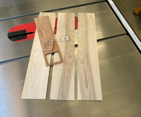 制作薄木板的激光切割