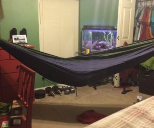 Hang Your Hammock From Your Walls