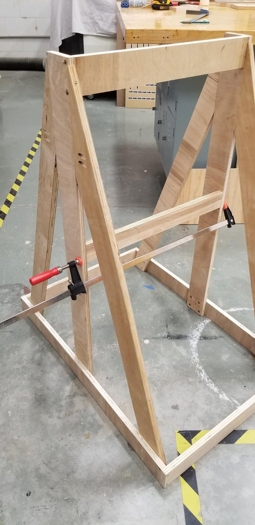 Building the Frame Continued