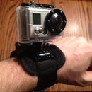 3 homemade GoPro Mounts - Wrist strap, extension pole and dog toy
