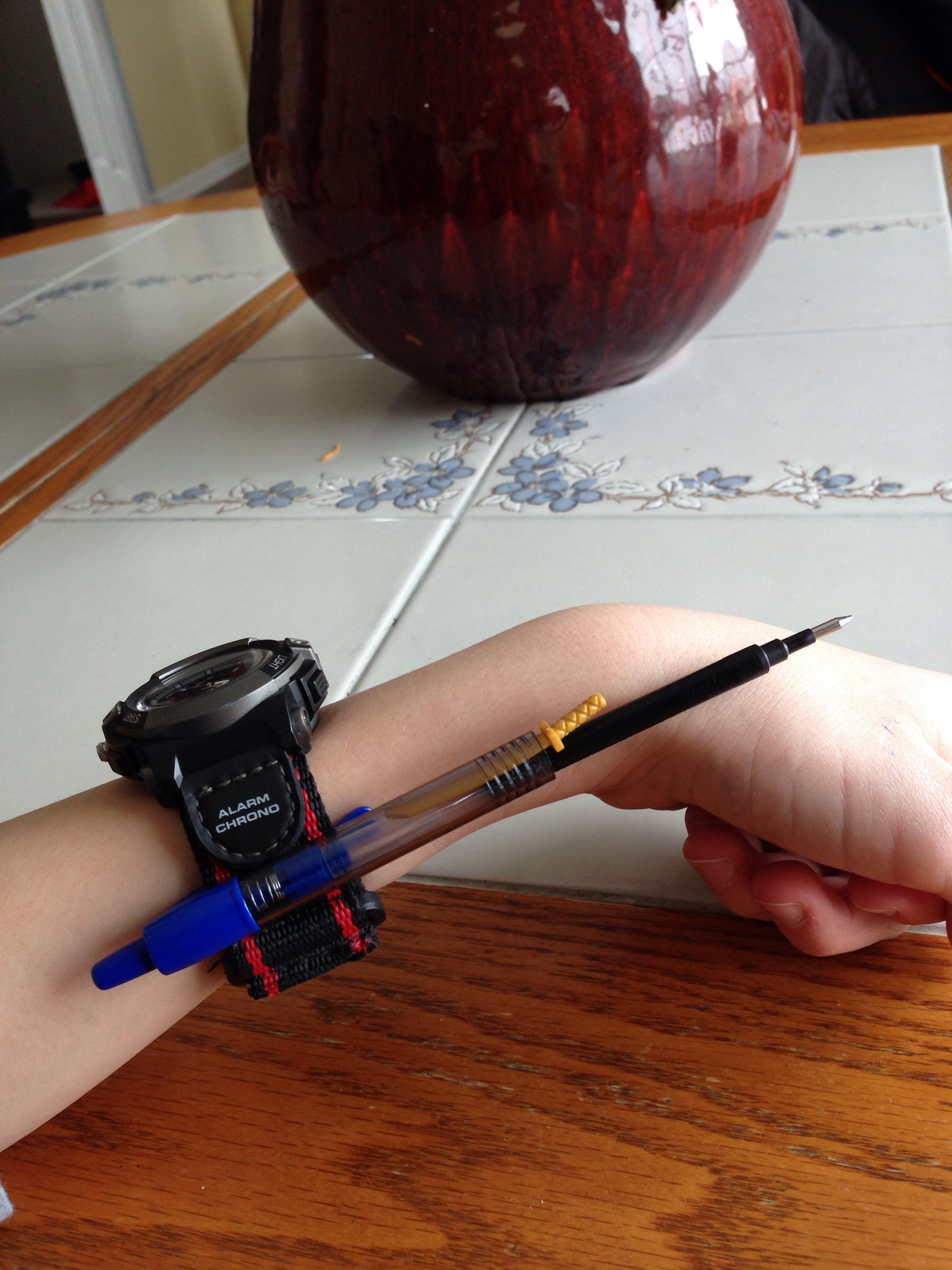 Wrist Pen Gun