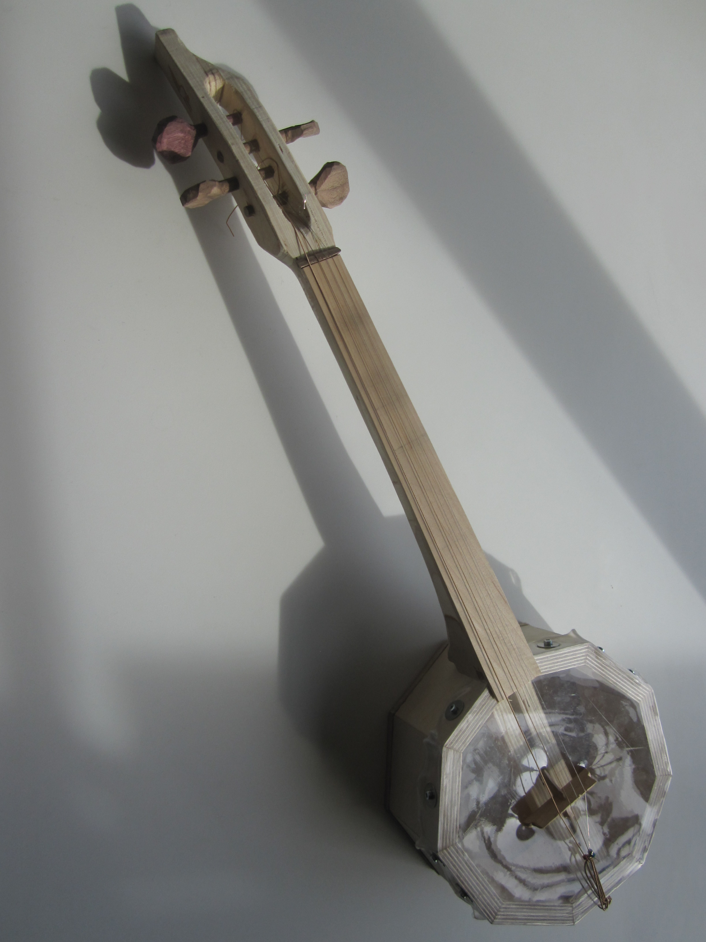 Digital Manufacturing: Fretless Trash Banjo