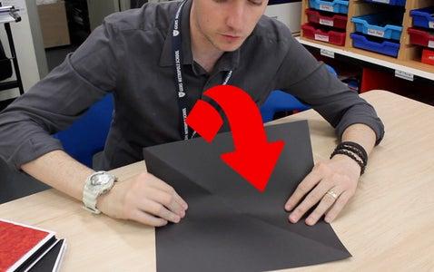 Step 2: Horizontal Fold