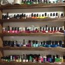 Fingernail Polish Shelf