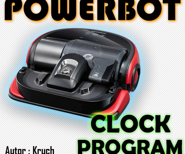 Powerbot Clock Program