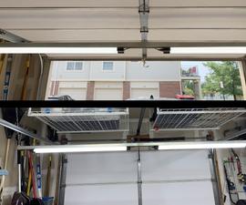 Under Door Garage Lighting