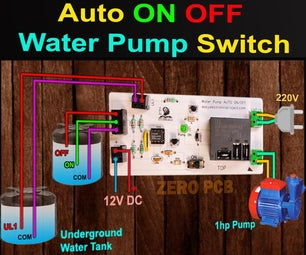 Automatic Water Level Controller for Submersible Pump and Overhead Tank | 555 Timer Projects 2021