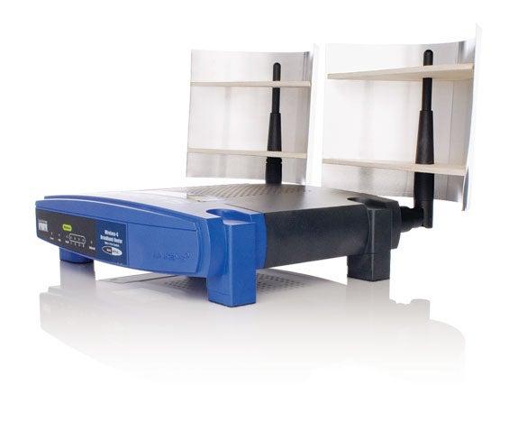 Parabolic WiFi Signal Deflectors