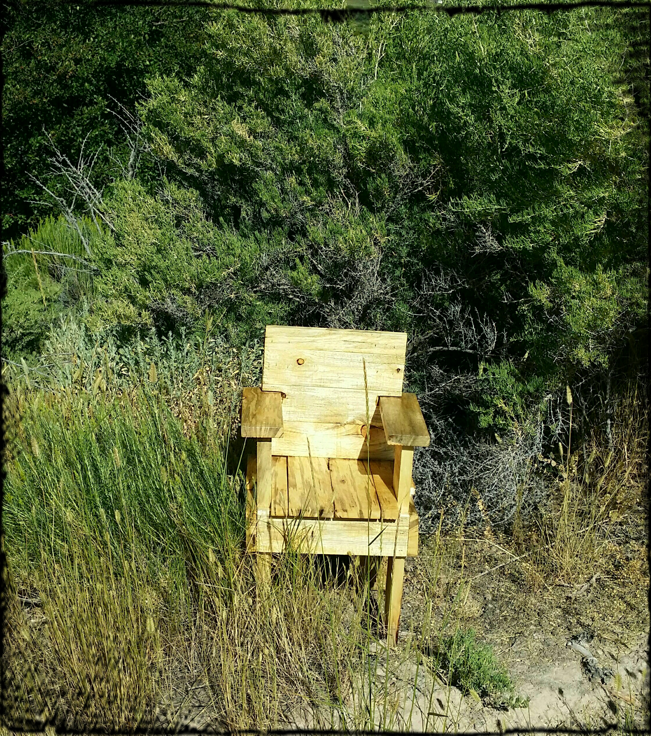 Simple Rustic Chair for Children
