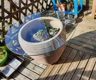 Planter Decorative Table