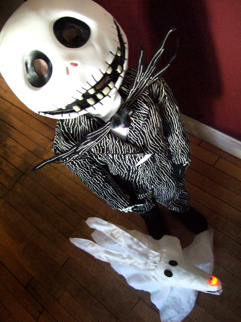 Zero Candy Bag for Your Jack Skellington Trick-or-Treater