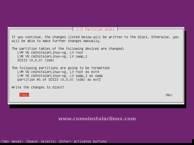 Select Disk to Installal