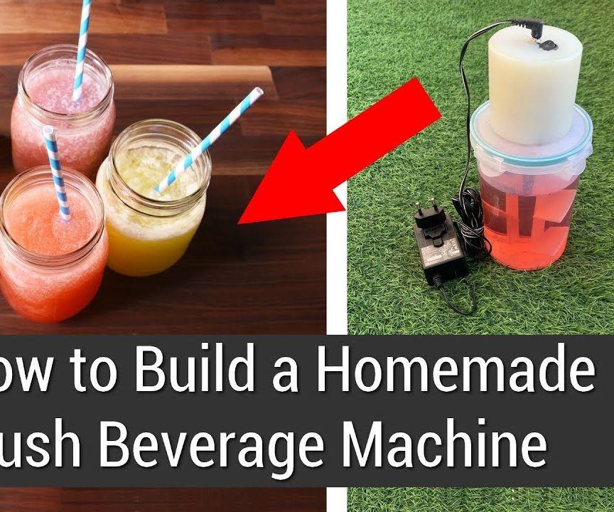How to Build a Homemade Slush Beverage Machine
