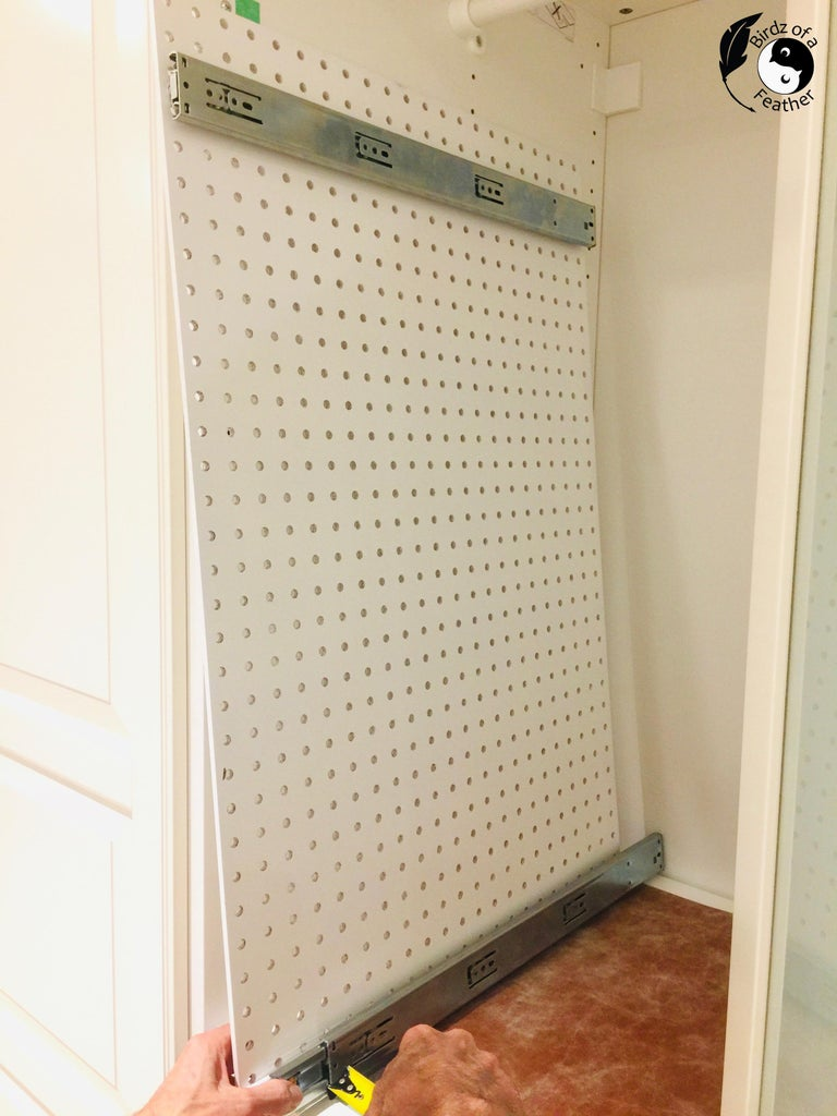 Upcycling Pegboard