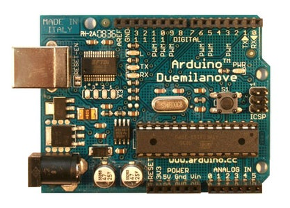 Solder the Electrical Components and Plug in Arduino