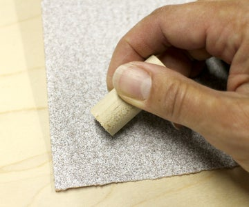 Cutting the Dowel Risers