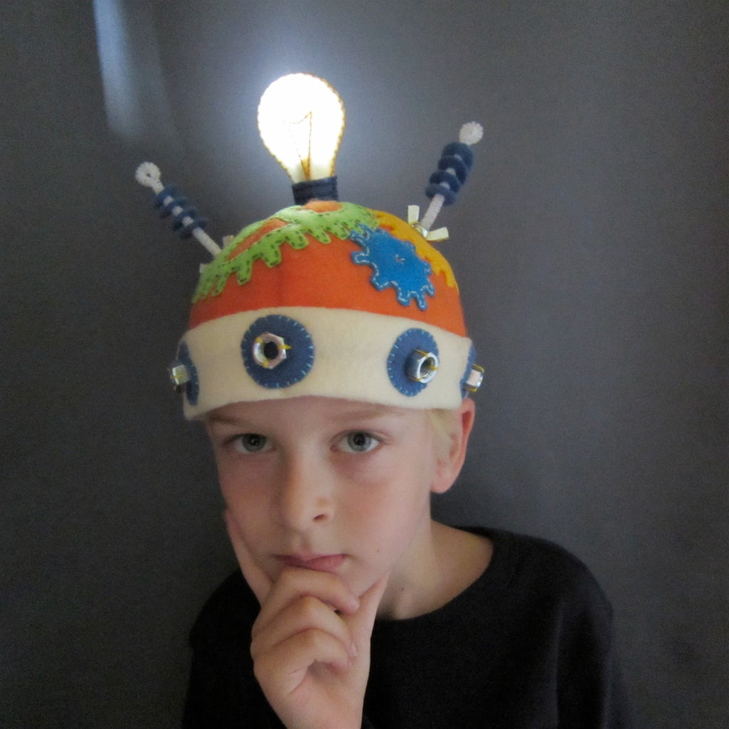 Thinking Cap With Working Light