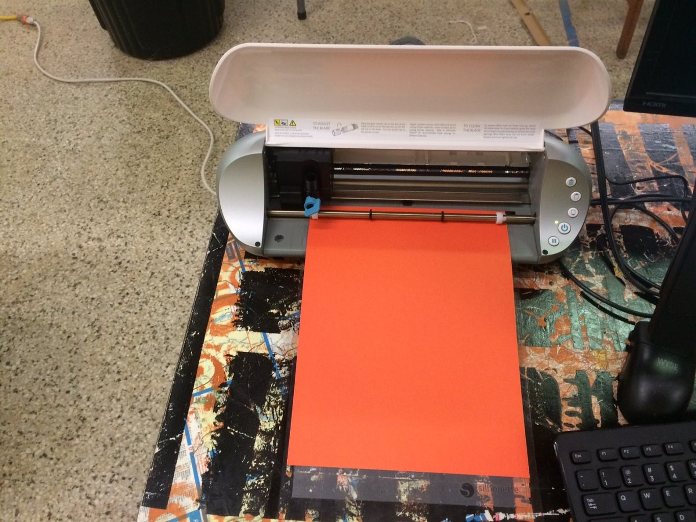 Step 7: Continue Printing Pieces of Your Robot Logo
