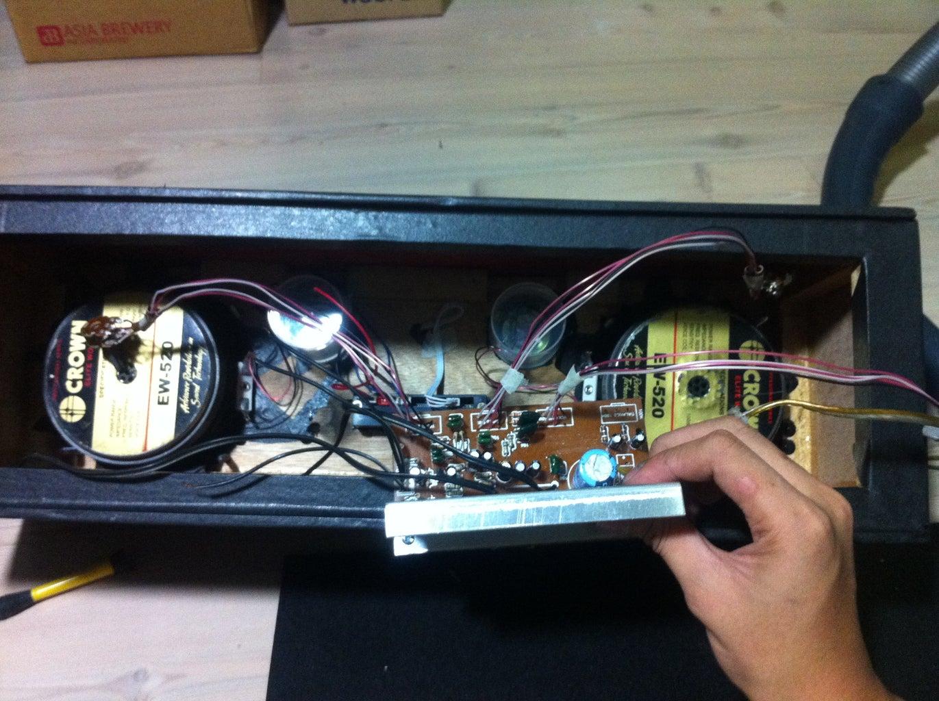 Assembling the Boombox