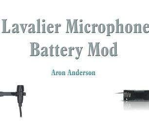Lav Mic Battery Mod