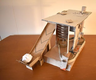 100% Cardboard Compact 6 Simple Machines.