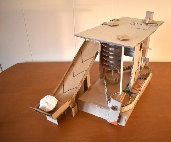 100%纸板紧凑型6台简单机器。