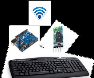 Wireless Keyboard With Arduino