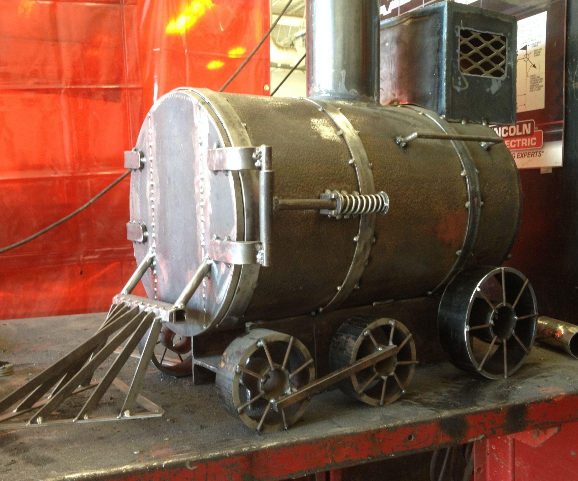 Train Woodstove
