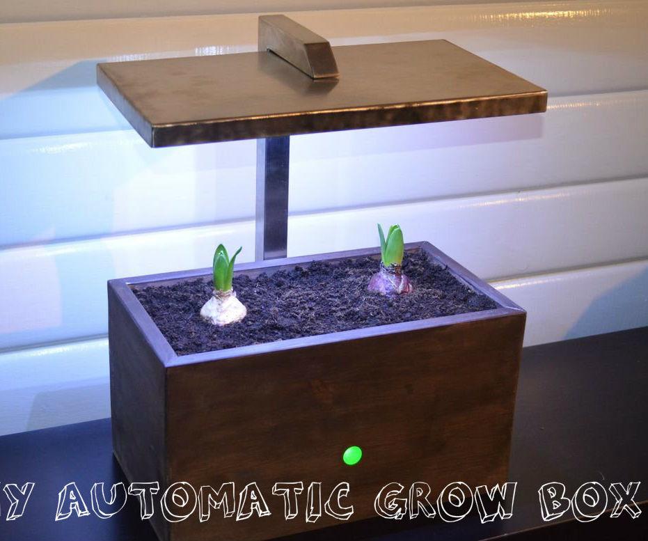 DIY Automatic Grow Box